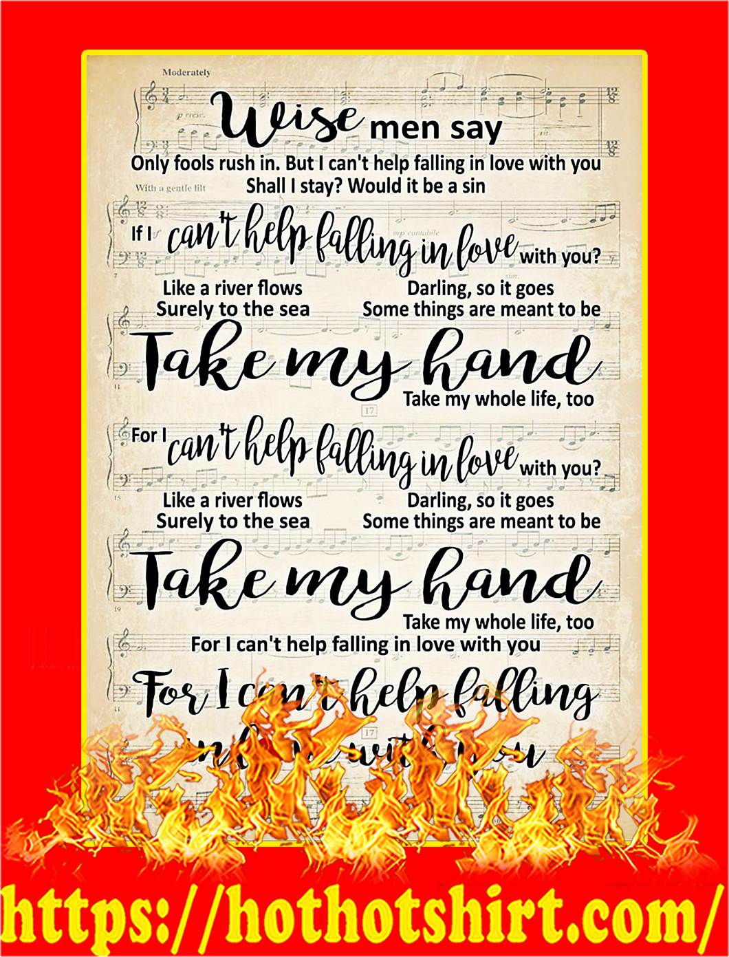Wise Men Say Poster
