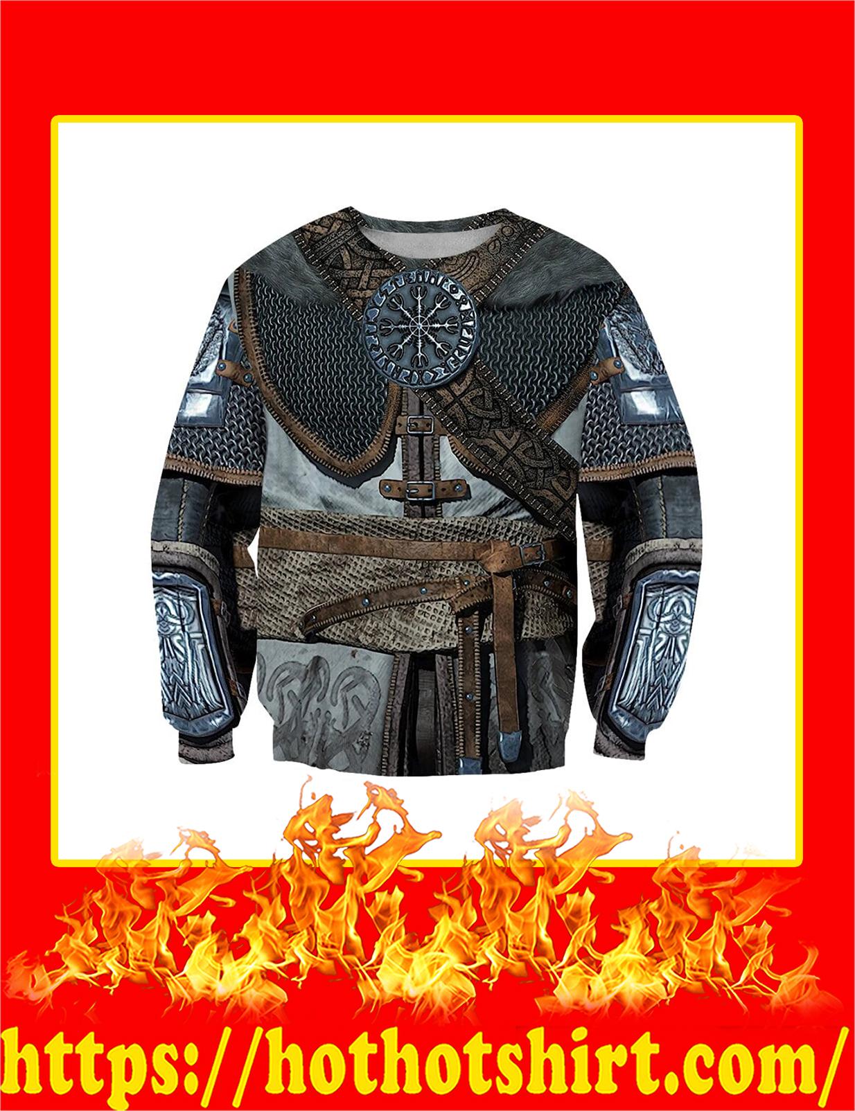 3D All Over Printed Vikings Armor Sweatshirt