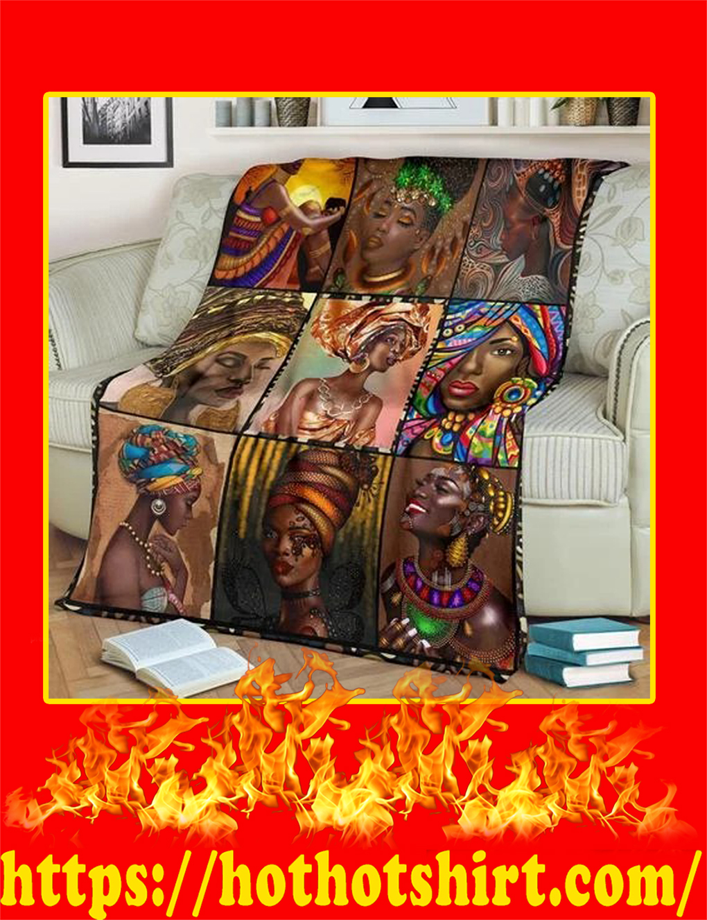 African Culture Blanket- youth