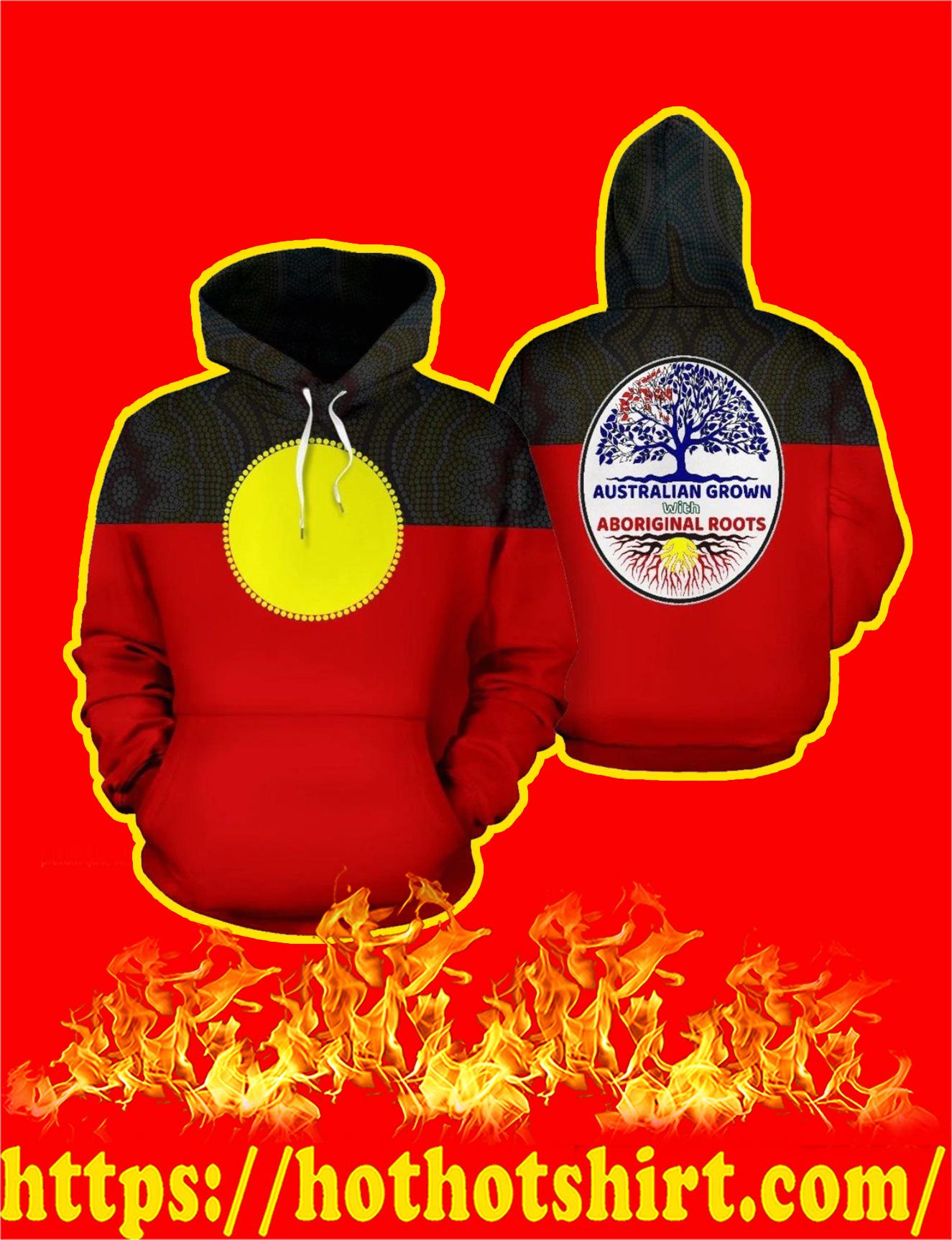 Australia Aboriginal Flag 3D All Over Printed Hoodie