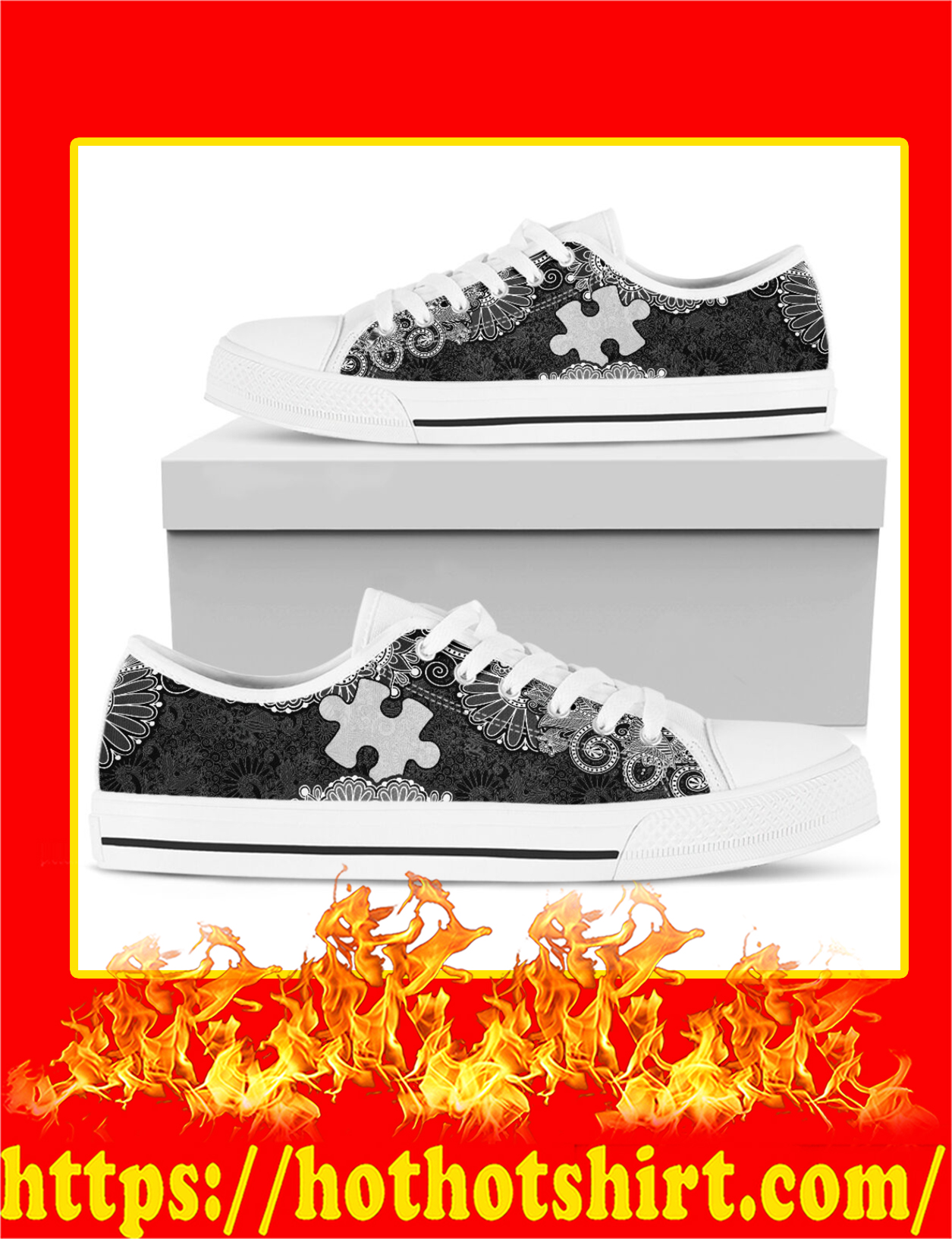 Autism Low Top Shoes - Pic 1