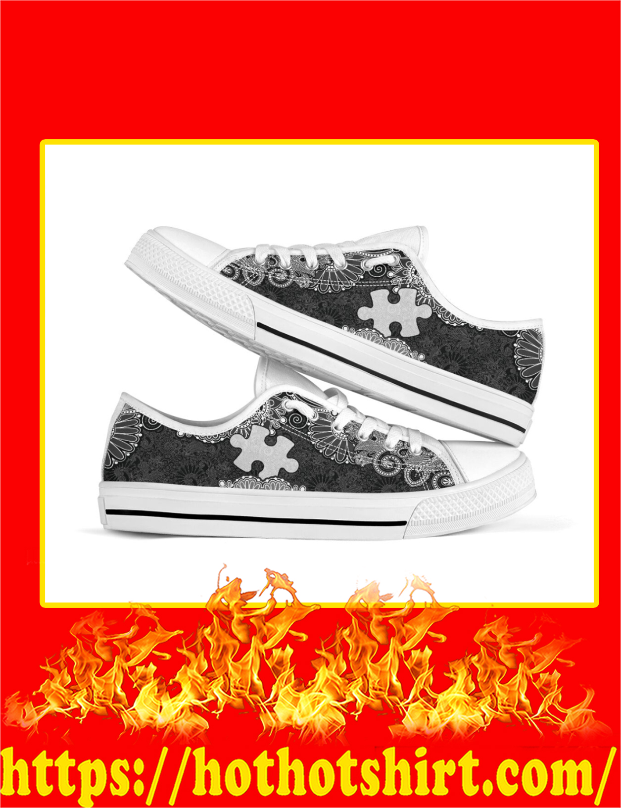 Autism Low Top Shoes - Pic 2