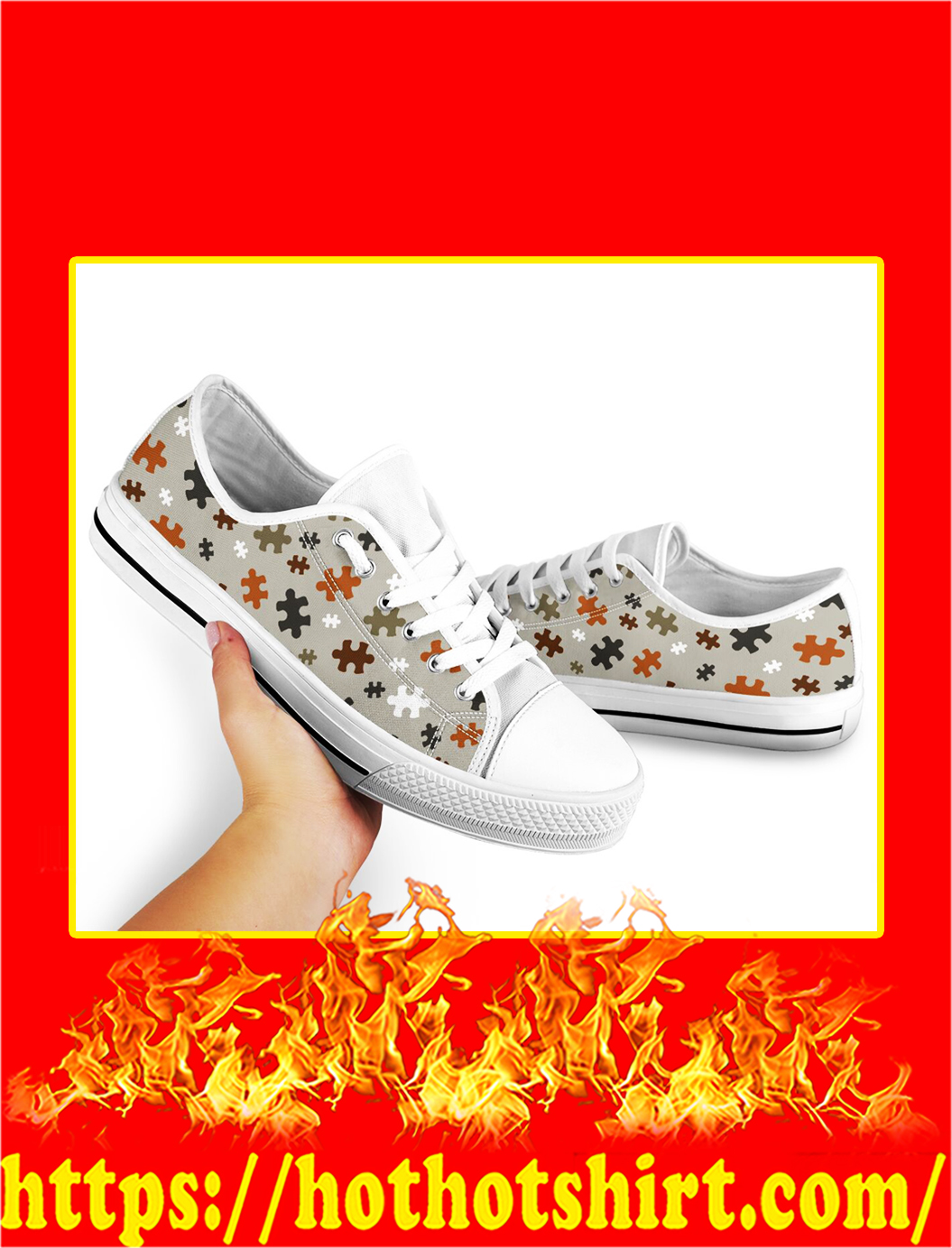 Autism Low Top Shoes- picture 2