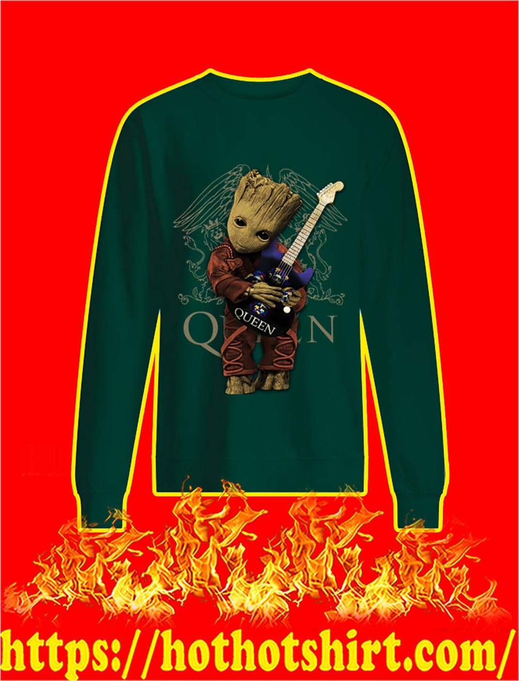 Baby Groot Hug Queen sweatshirt