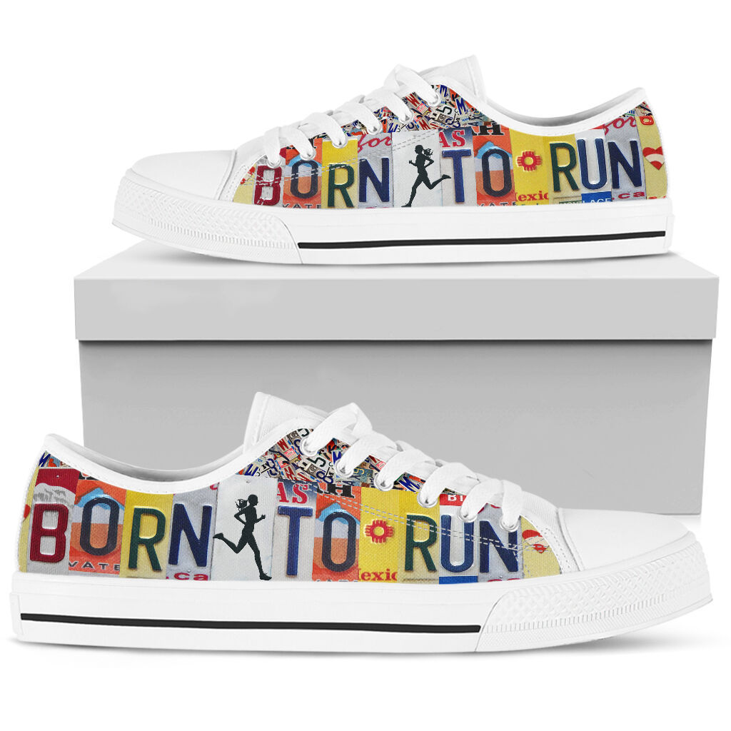 Born To Run Low Top Shoes - Pic 3