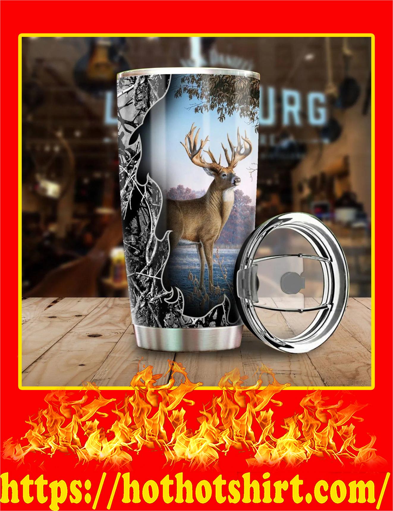 Camo Deer Hunting Tumbler - Pic 2