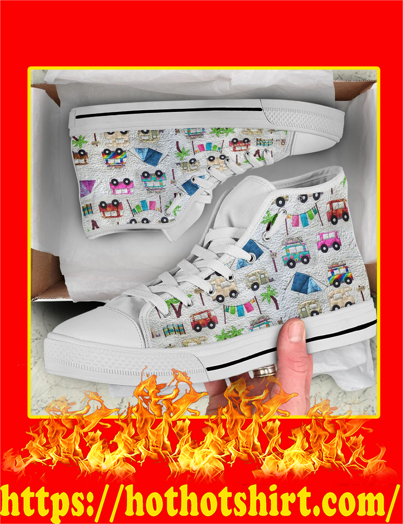 Camper High Top Shoes - Pic 1