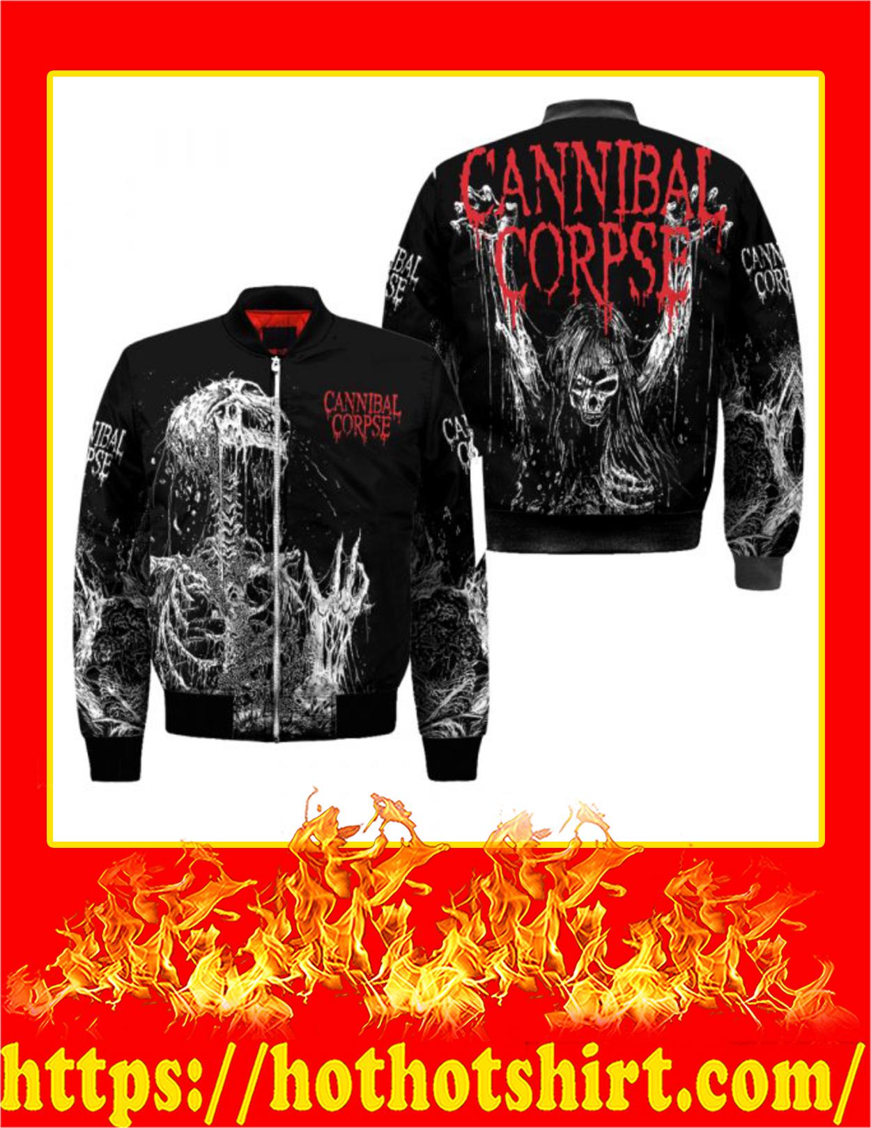 Cannibal Corpse Skull Bomber Jacket