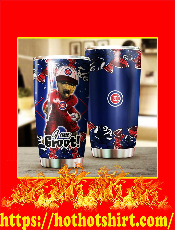 Chicago Cubs I'm Groot Tumbler- 20 oz