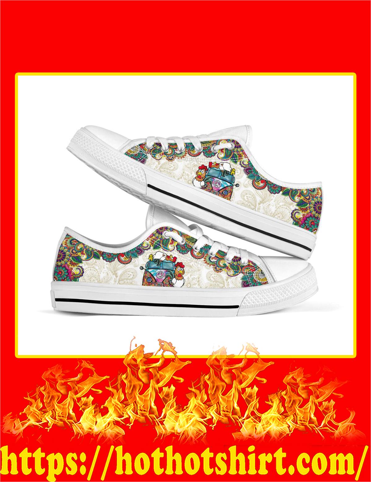 Chicken Hippie Van Low Top Shoes - Pic 1