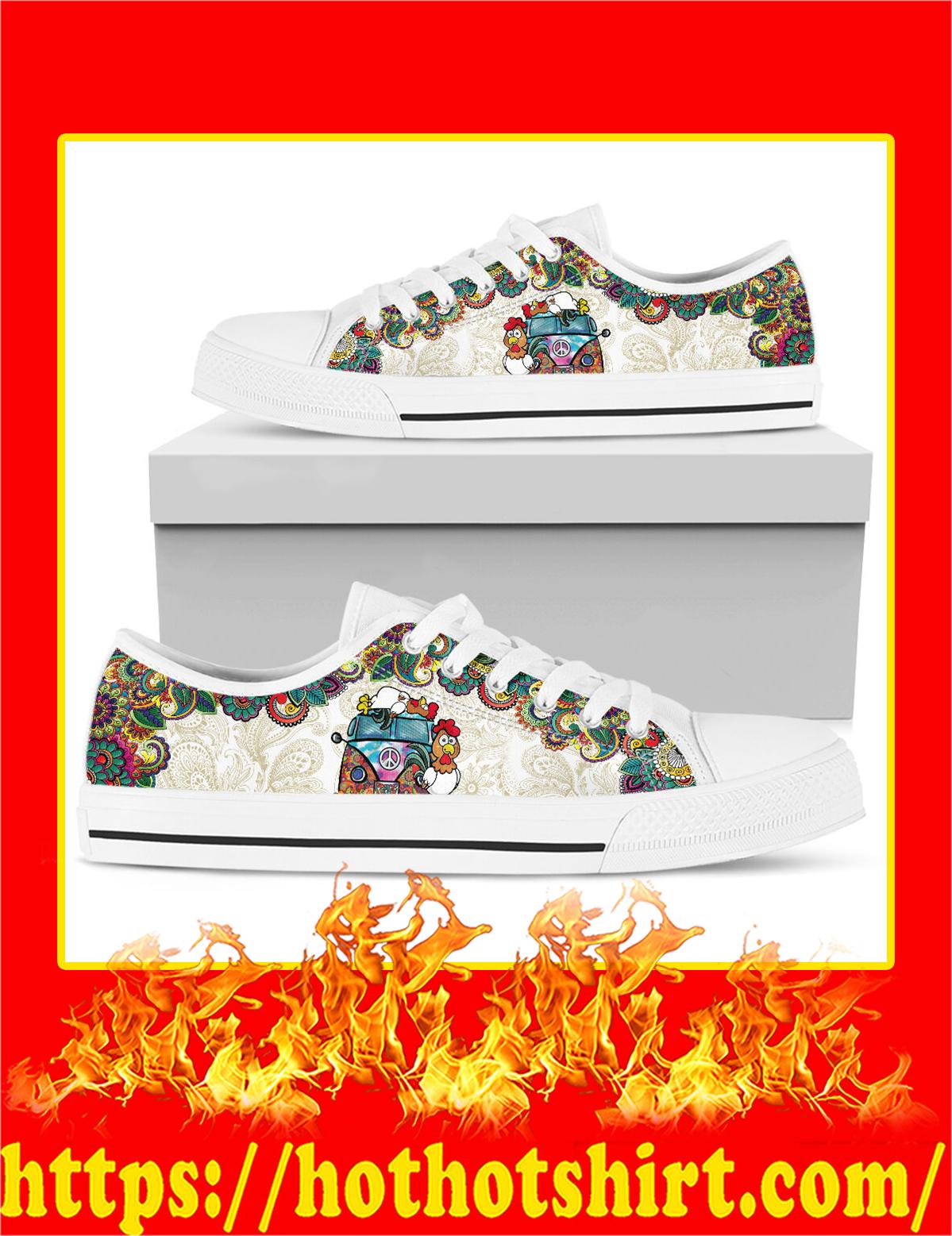 Chicken Hippie Van Low Top Shoes - Pic 2