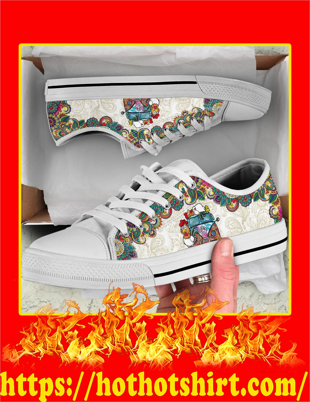 Chicken Hippie Van Low Top Shoes - Pic 3