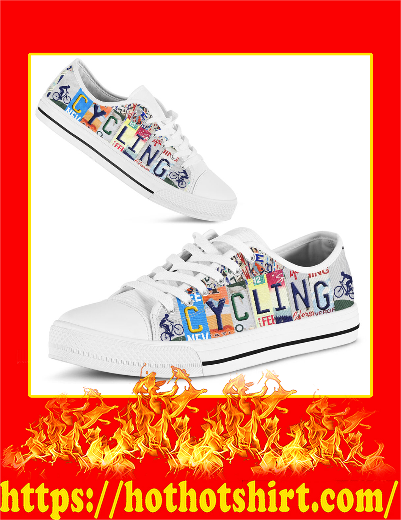 Cycling Low Top Shoes - Pic 1