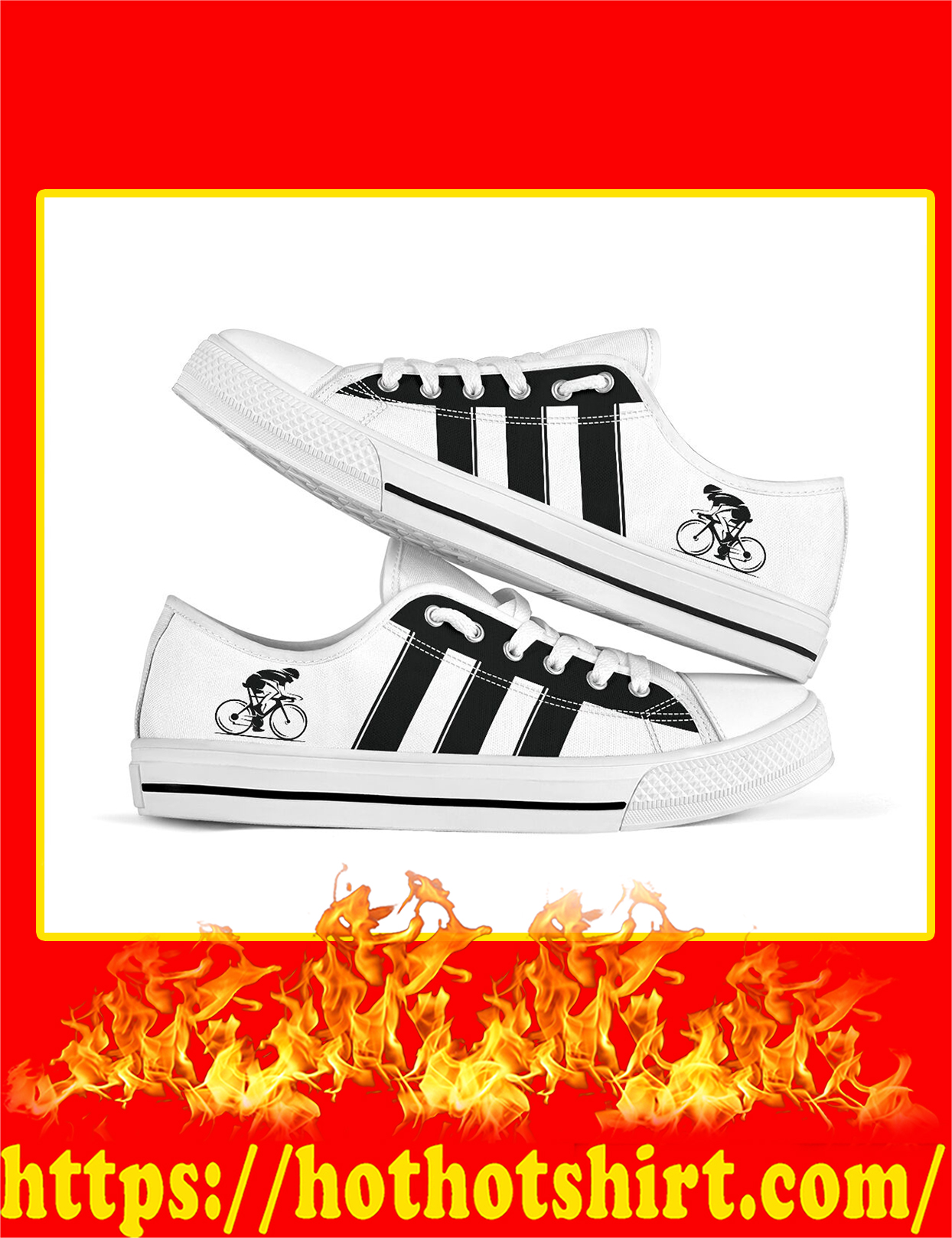 Cycling Low Top Shoes - Pic 2