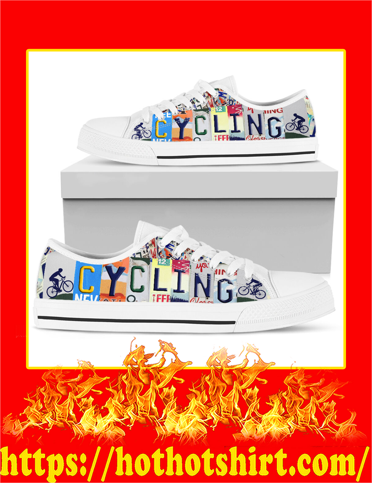 Cycling Low Top Shoes - Pic 3