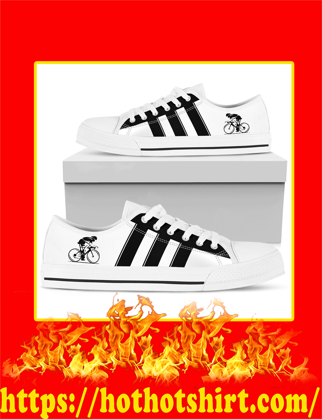 Cycling Low Top Shoes - Pic 4