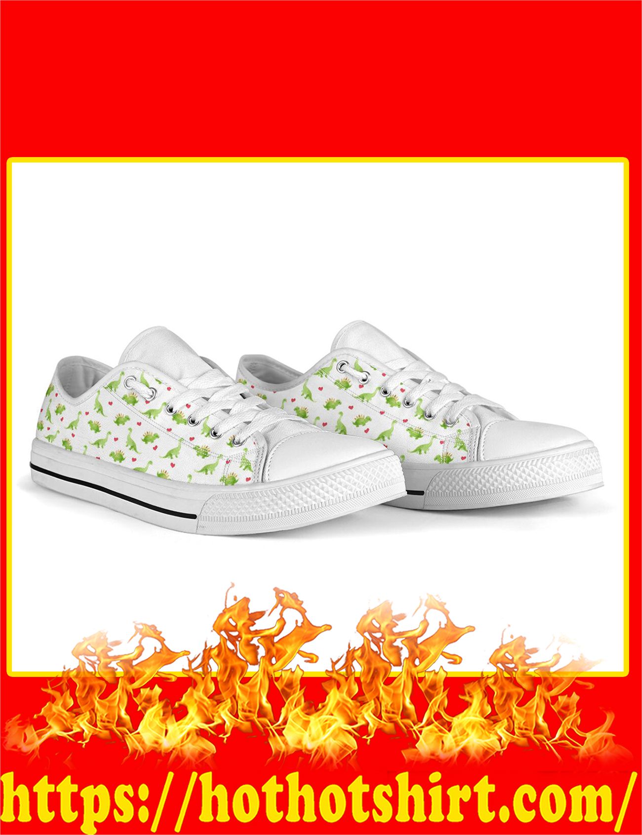 Dinosaurs Low Top - Pic 1
