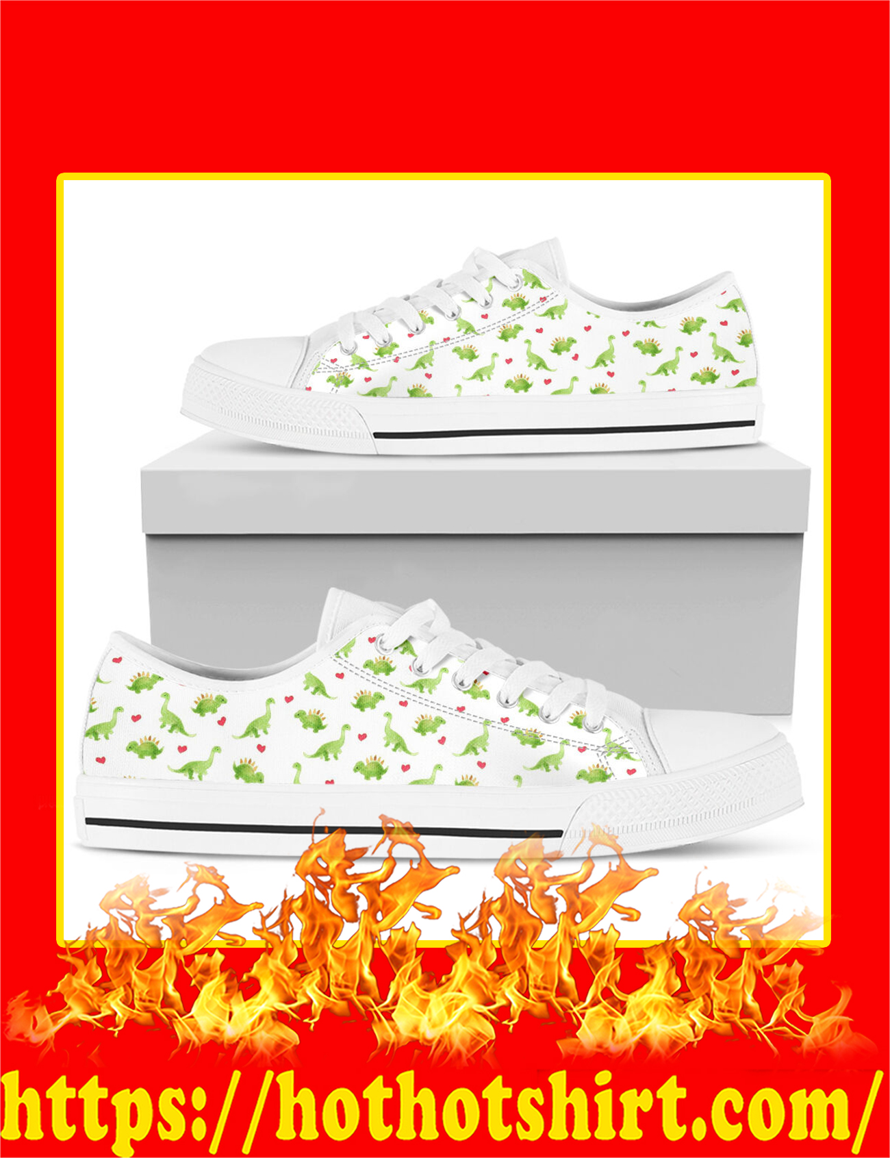 Dinosaurs Low Top - Pic 2