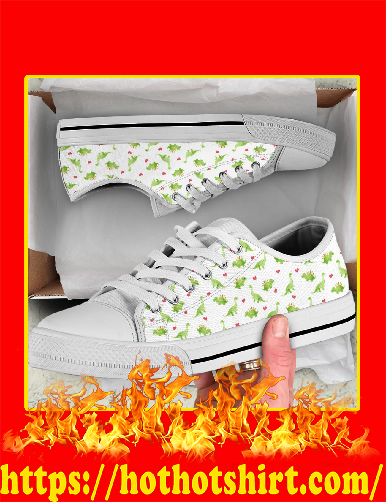 Dinosaurs Low Top - Pic 3