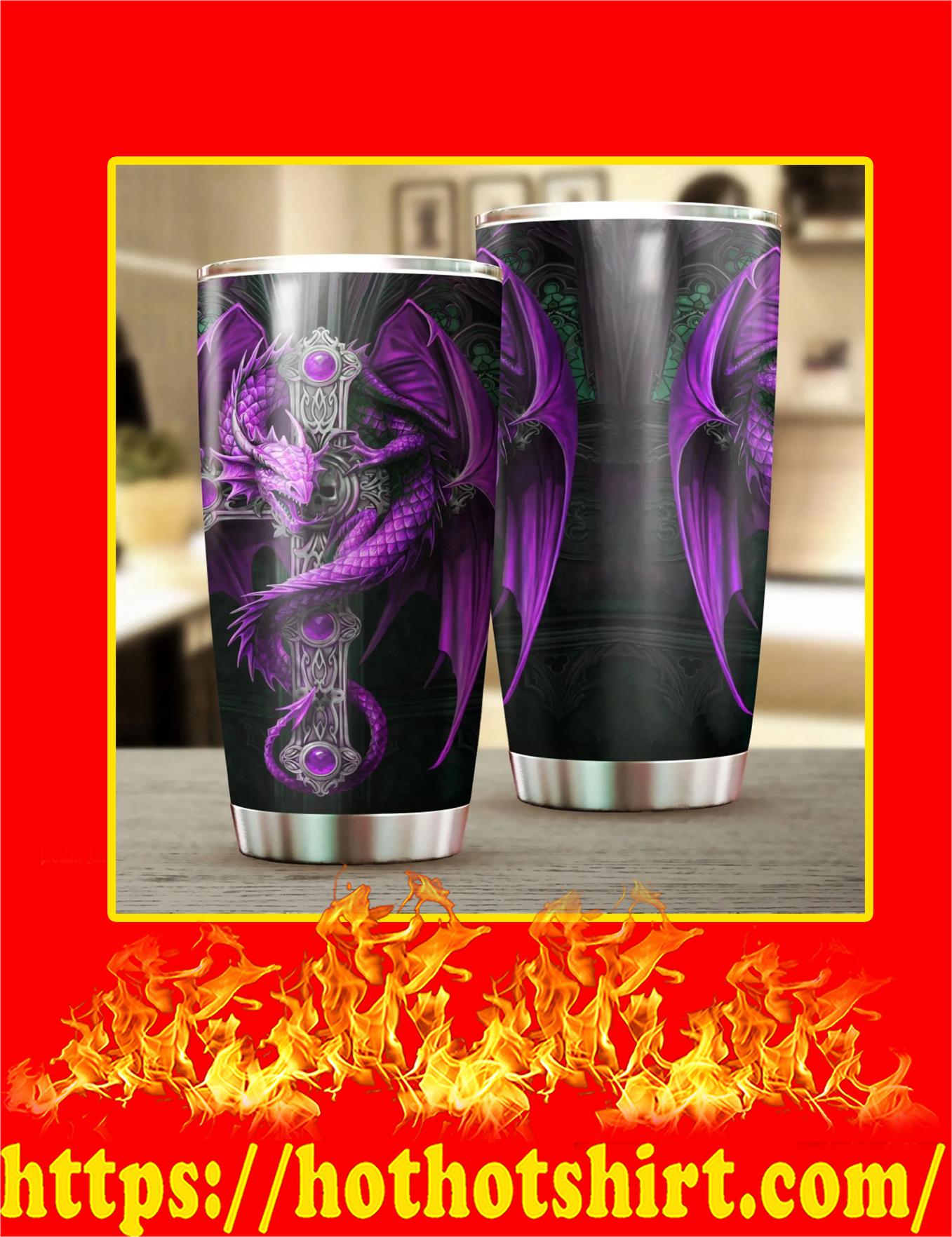 Dragon & Dungeon Tattoo Tumbler - 20oz