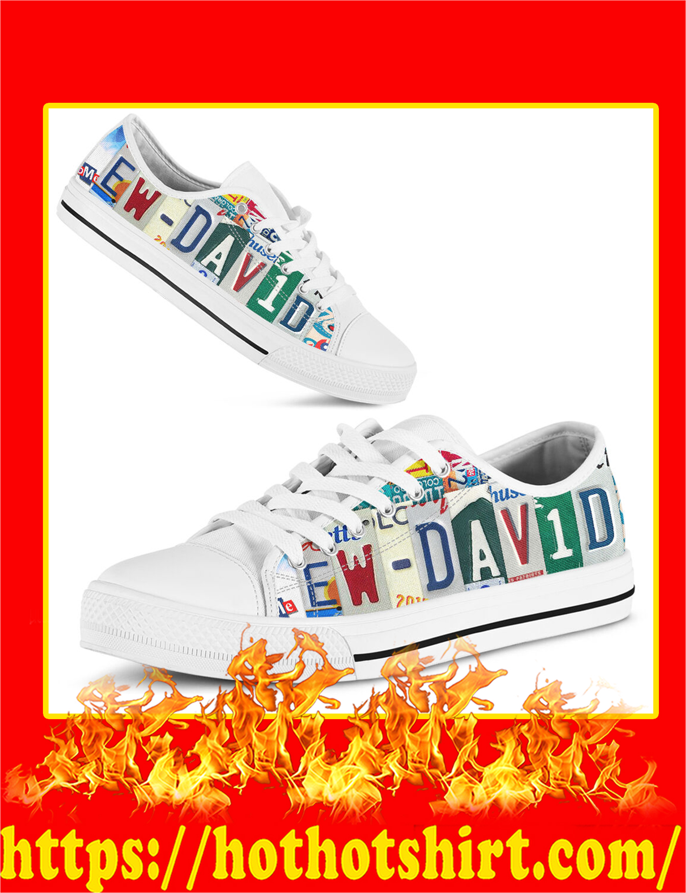 Ew David Low Top Shoes - Pic 1