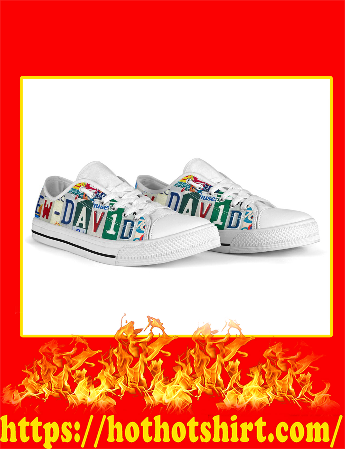 Ew David Low Top Shoes - Pic 3