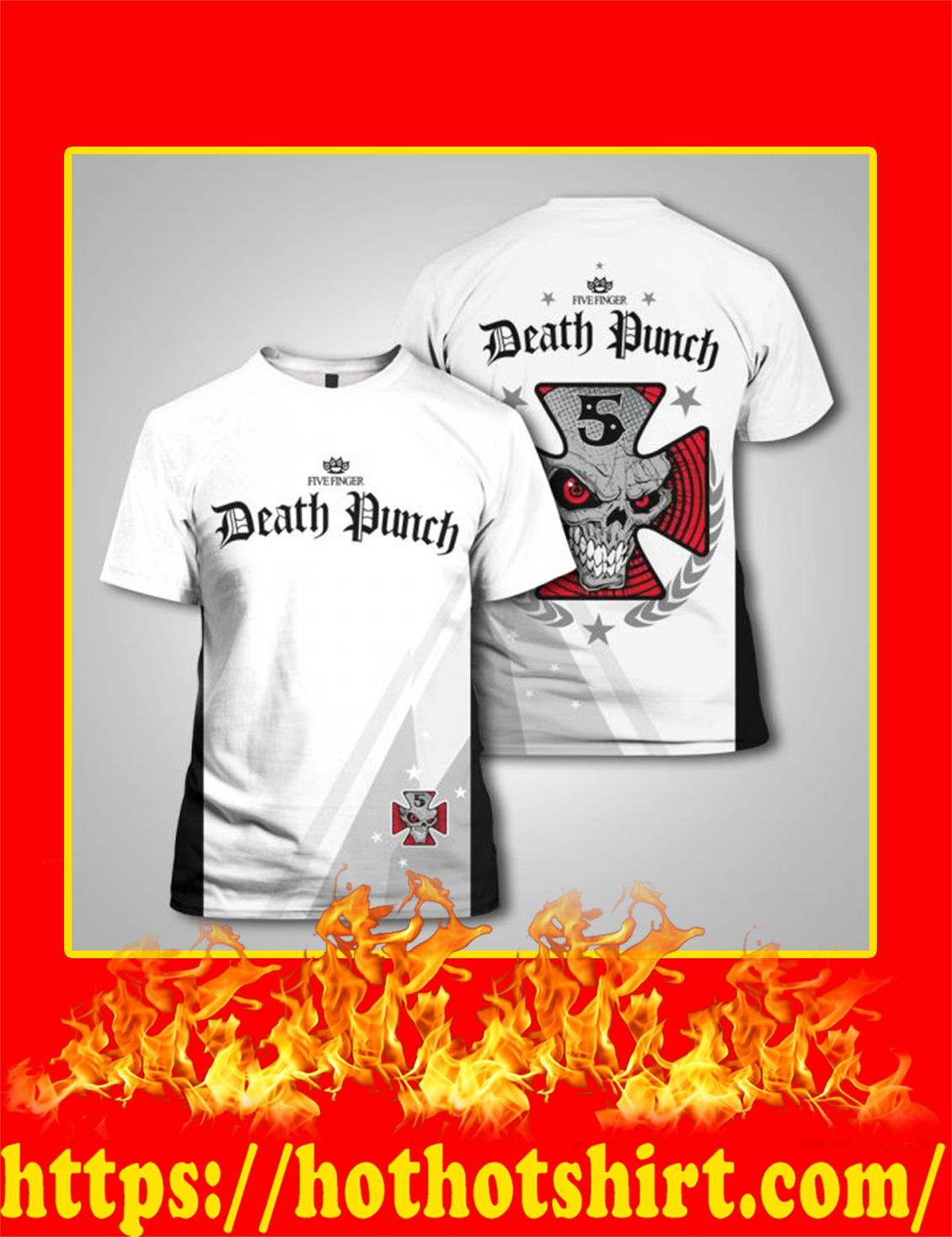 Five Finger Death Punch 3d shirt