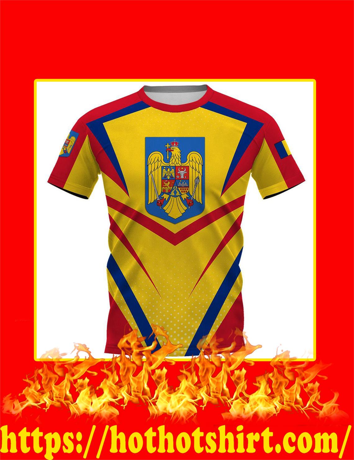 Flag Romania 3d shirt