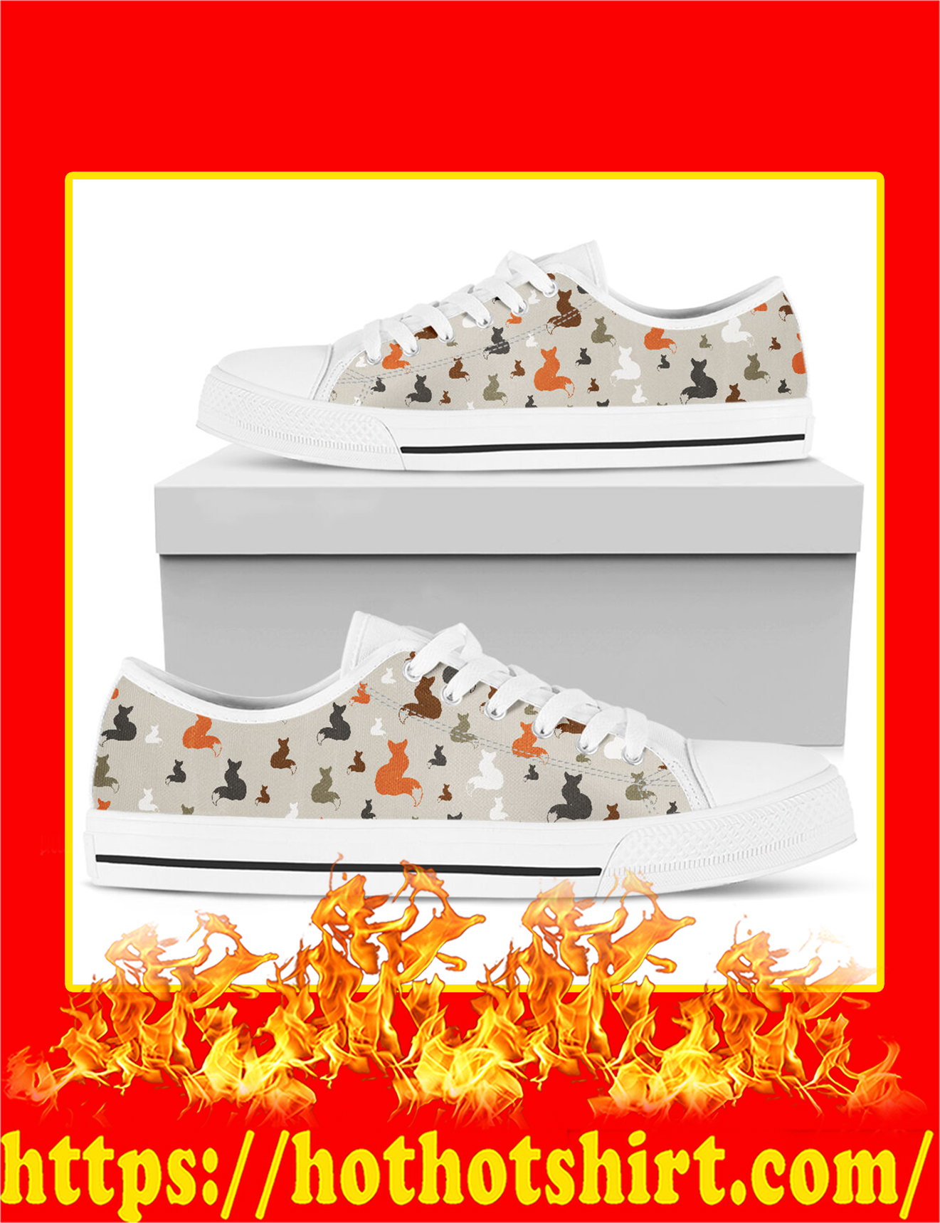 Fox Low Top Shoes - Pic 3