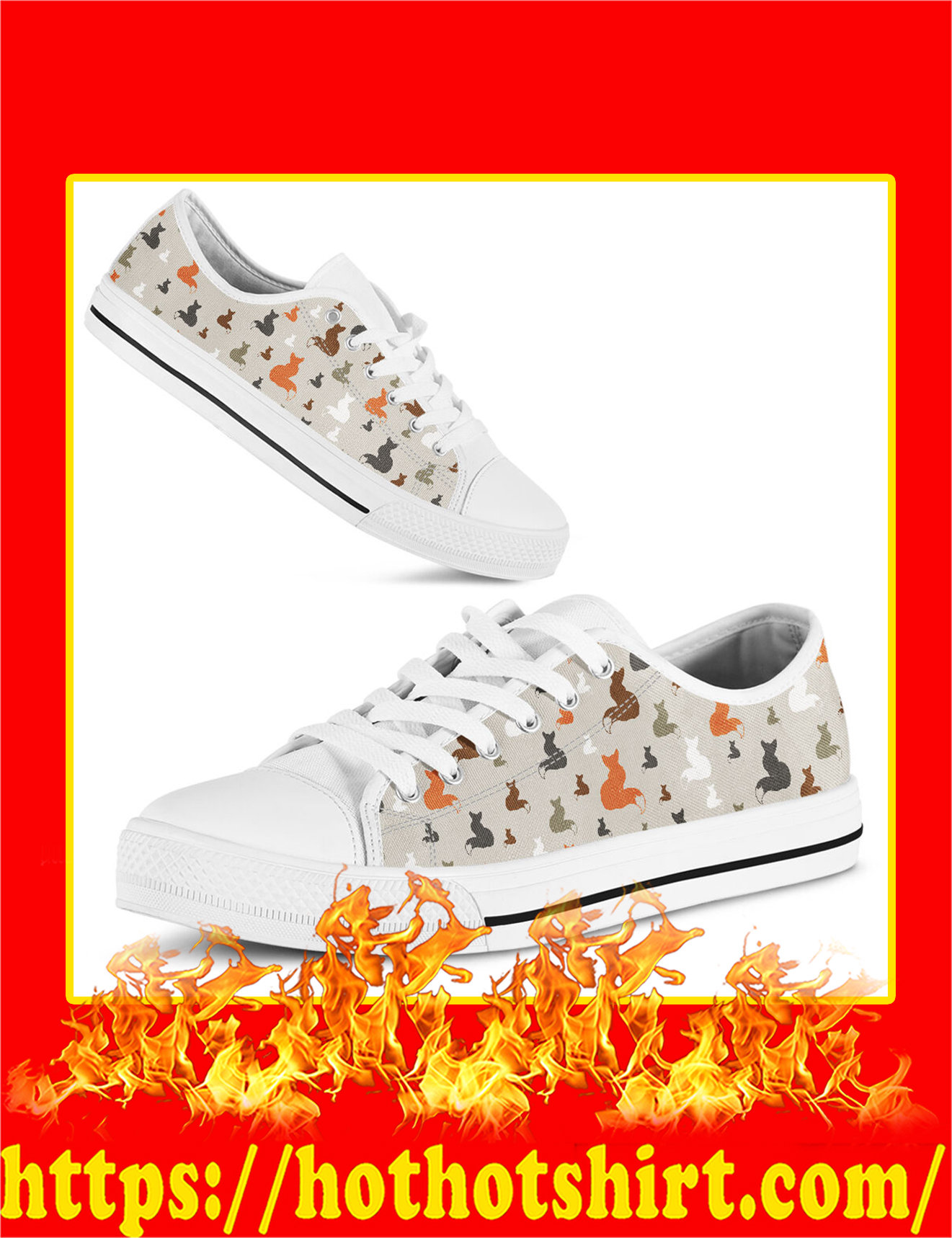 Fox Low Top Shoes