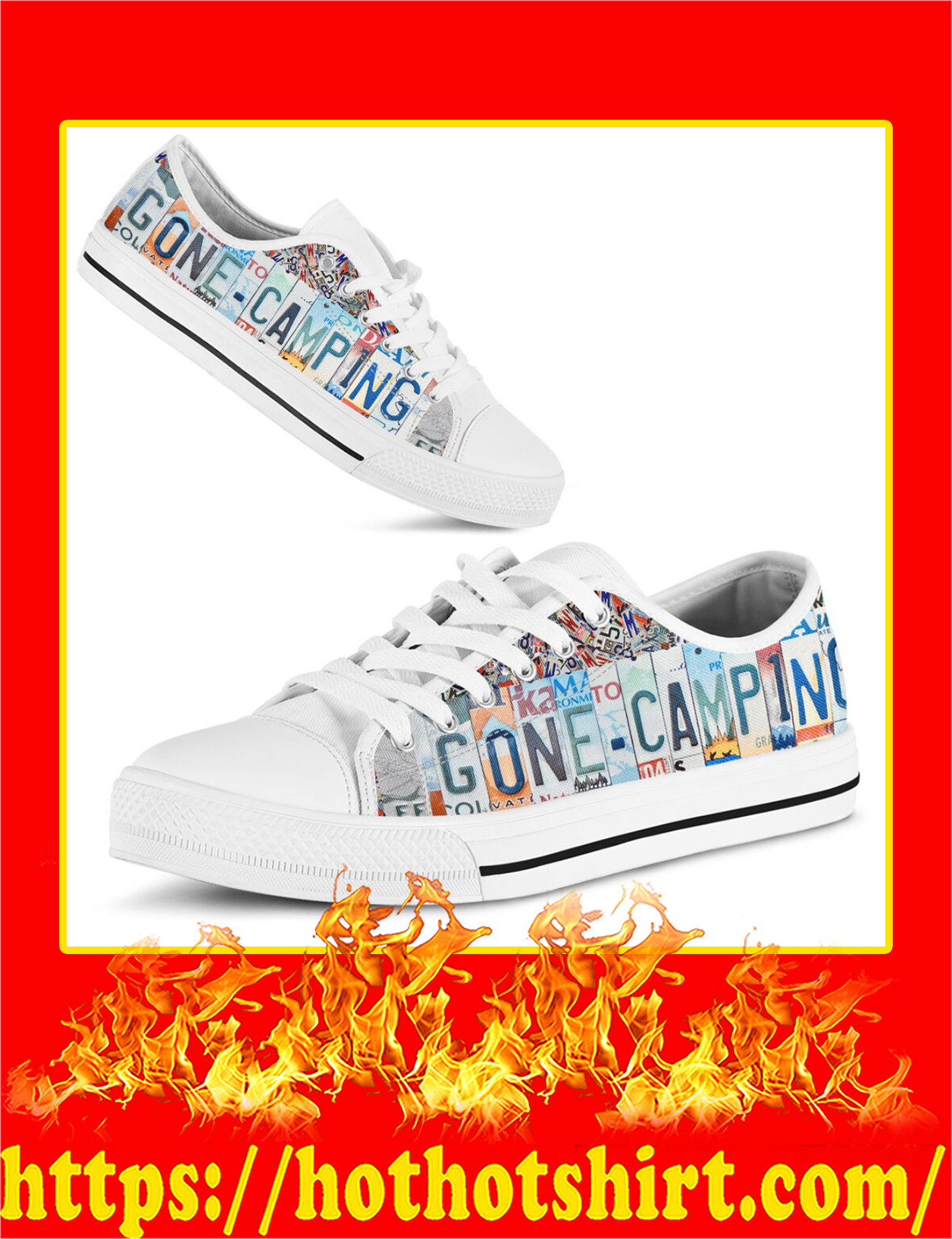 Gone Camping Low Top Shoes