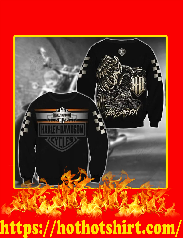 Harley Davidson Logo Eagle 3D sweatshirt