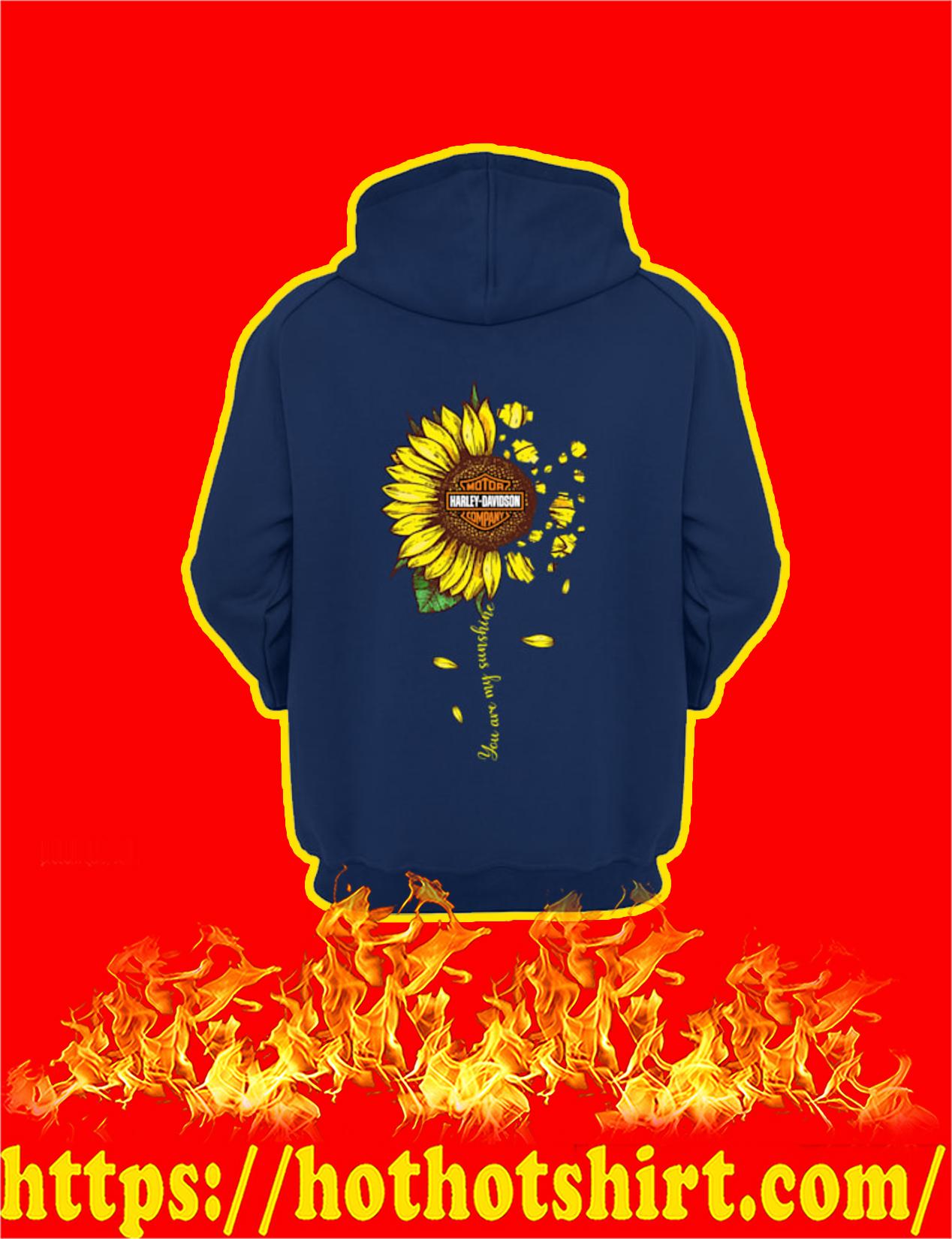 Harley-Davidson Sunflower You Are My Sunshine Hoodie