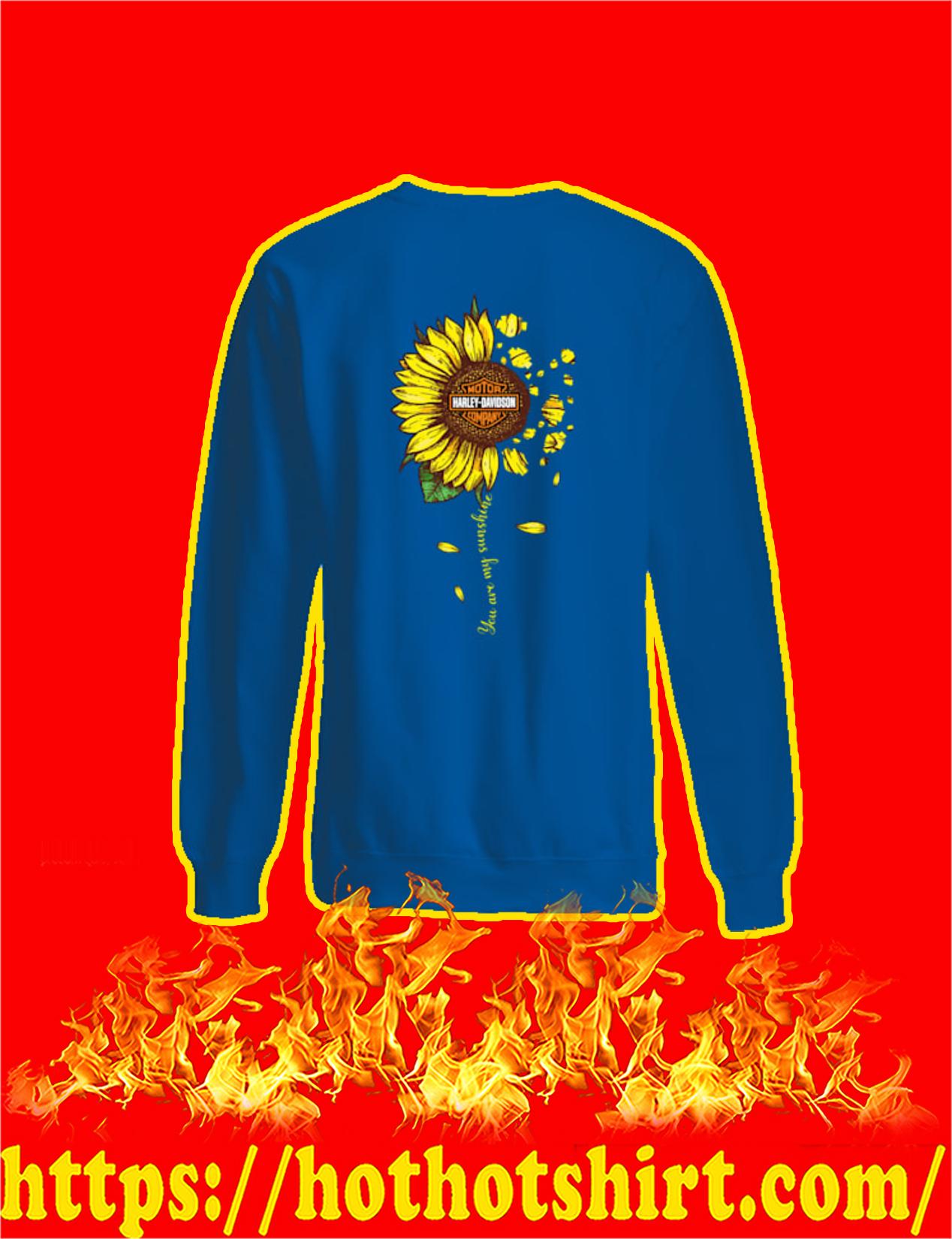 Harley-Davidson Sunflower You Are My Sunshine Sweatshirt