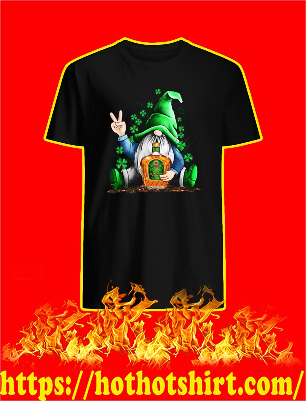 Irish Gnome Hug Crown Royal St Patrick's Day shirt