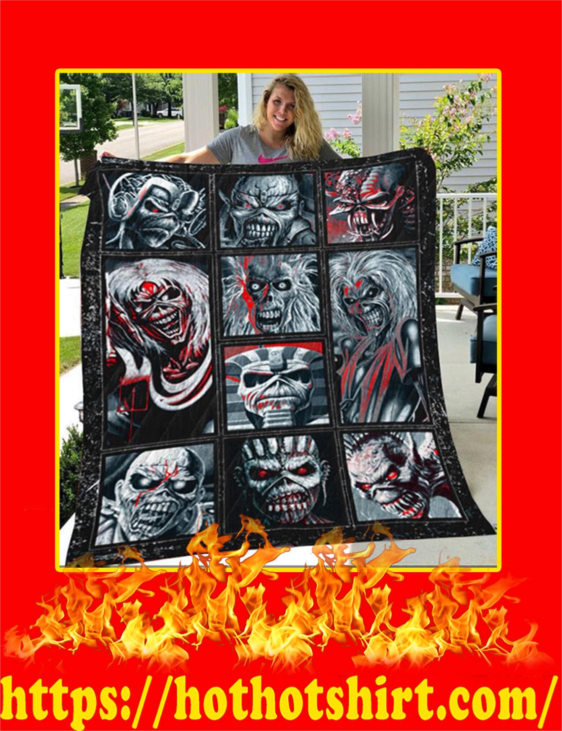 Iron Maiden Beast Quilt Blanket- super king