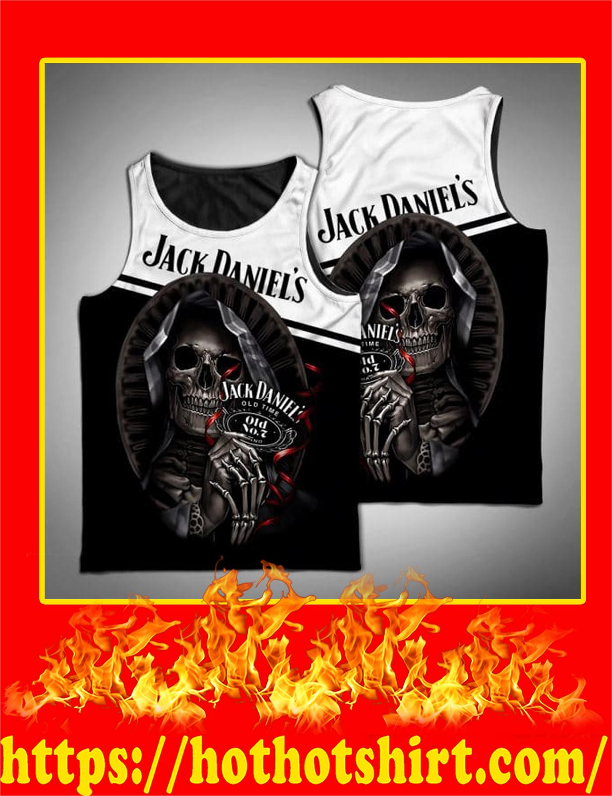 Jack Daniels Death Skull 3D Tank Top