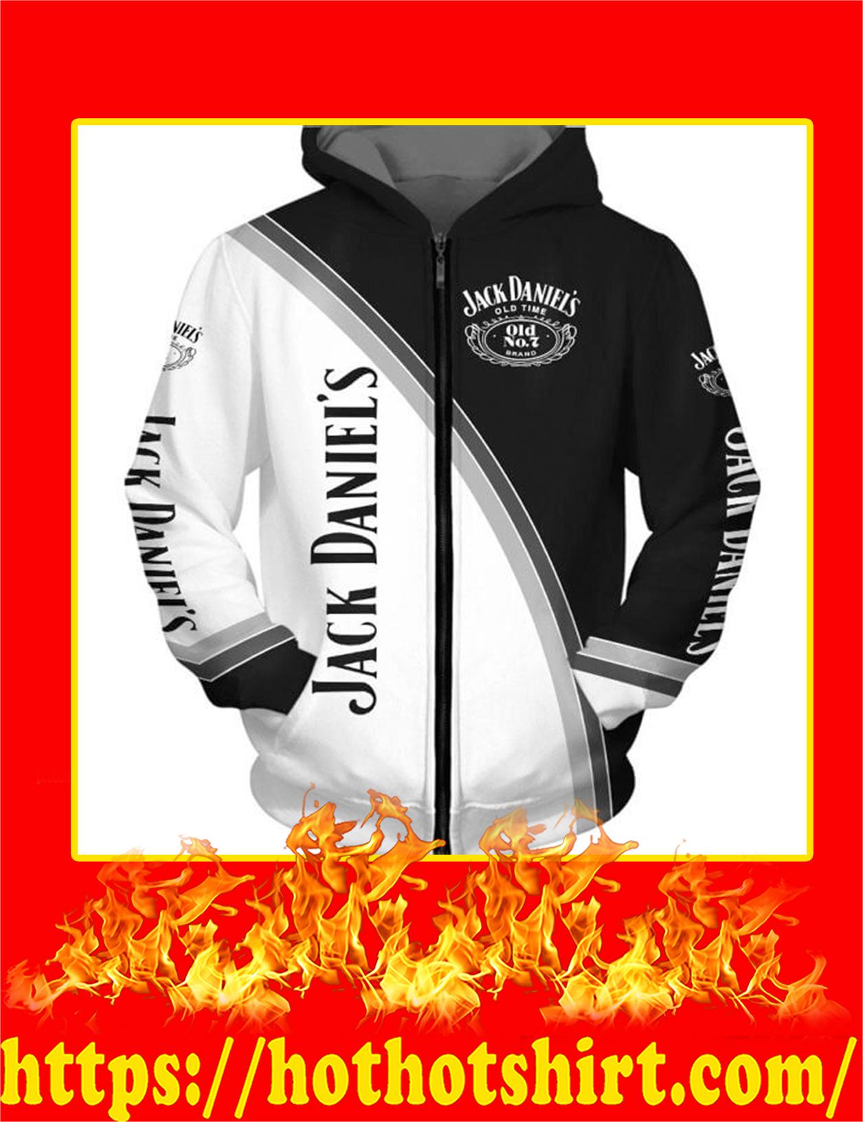 Jack Daniels Logo 3D Hoodie - Front