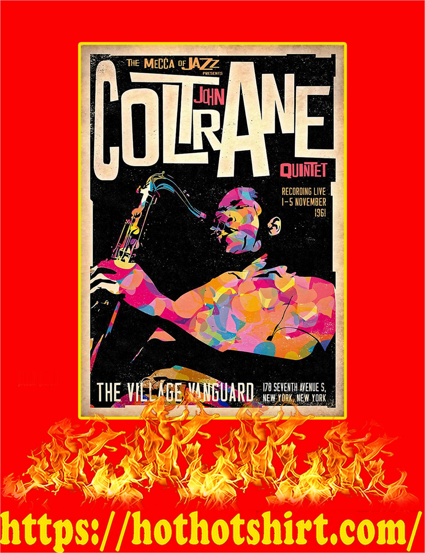 John Coltrane Quintet Poster - A2