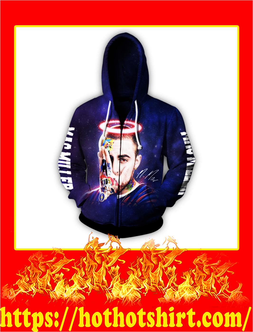 Mac Miller Full Over Print zip hoodieMac Miller Full Over Print zip hoodie