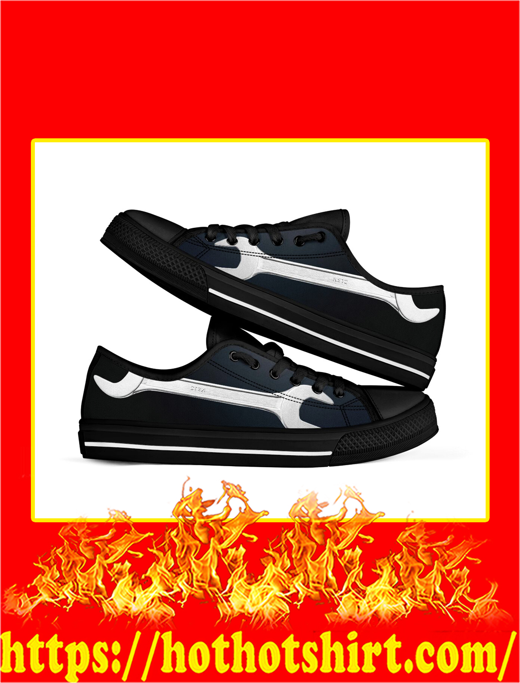 Mechanic Low Top Shoes- picture 1