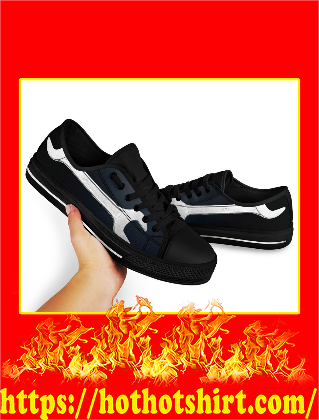 Mechanic Low Top Shoes- picture 2