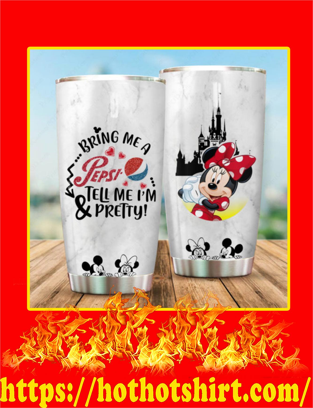 Minnie Mickey Bring Me A Pepsi Tumbler - 20oz
