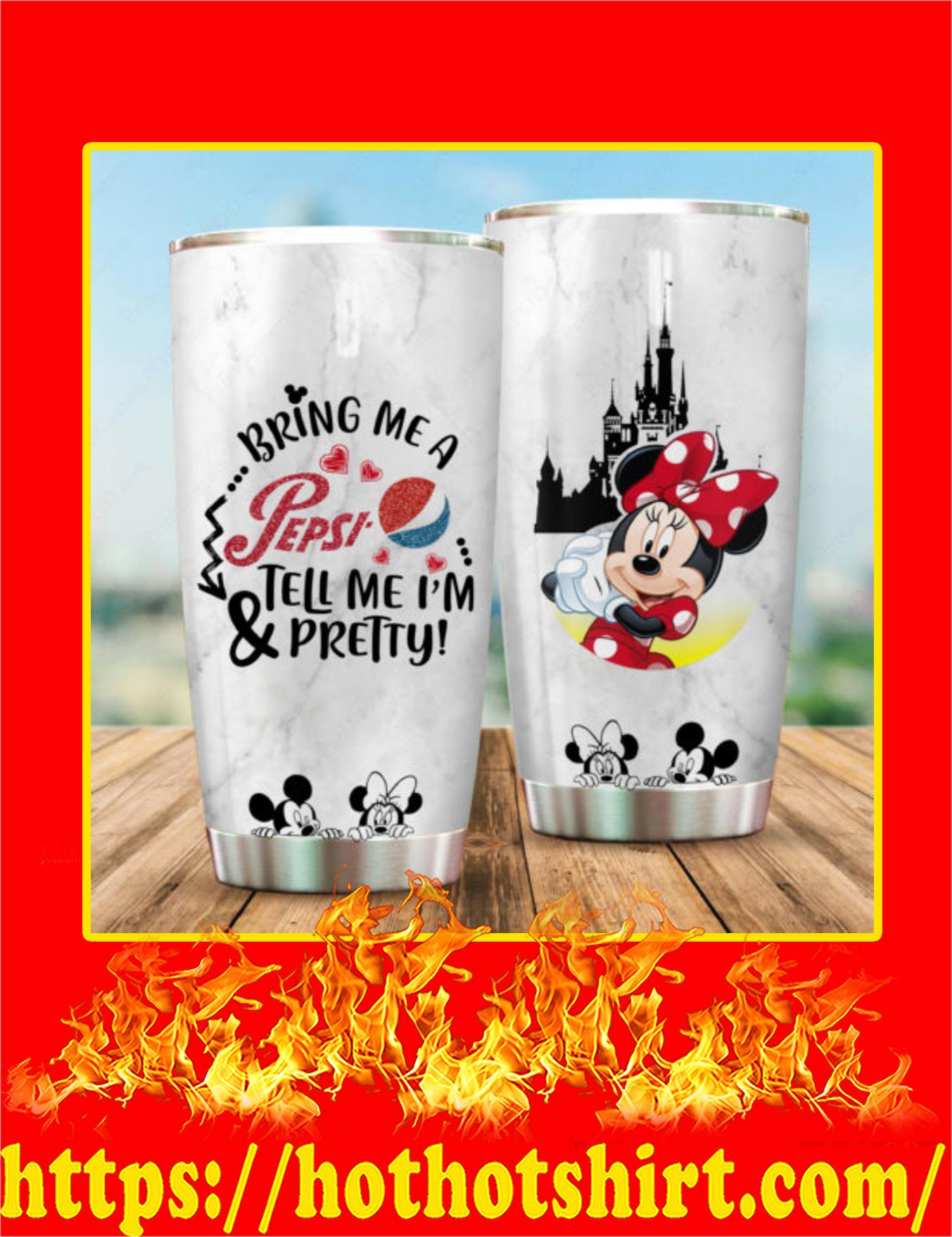 Minnie Mickey Bring Me A Pepsi Tumbler