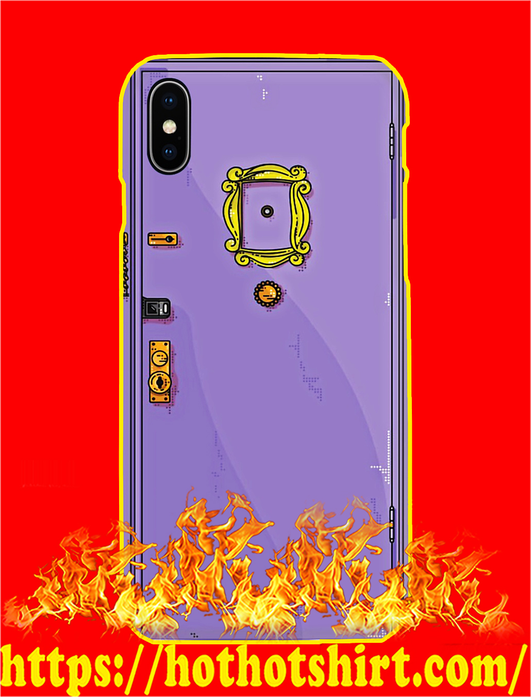 Monica Purple Door Phone Case- iphone X