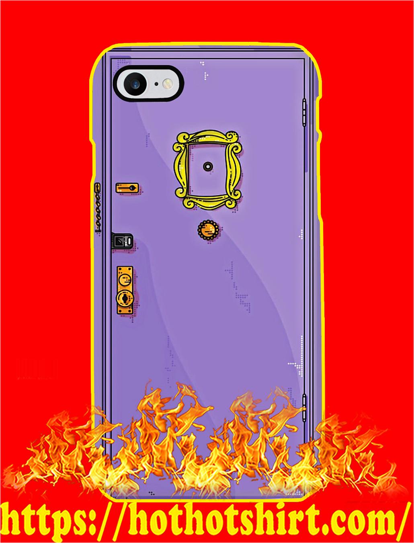 Monica Purple Door Phone Case
