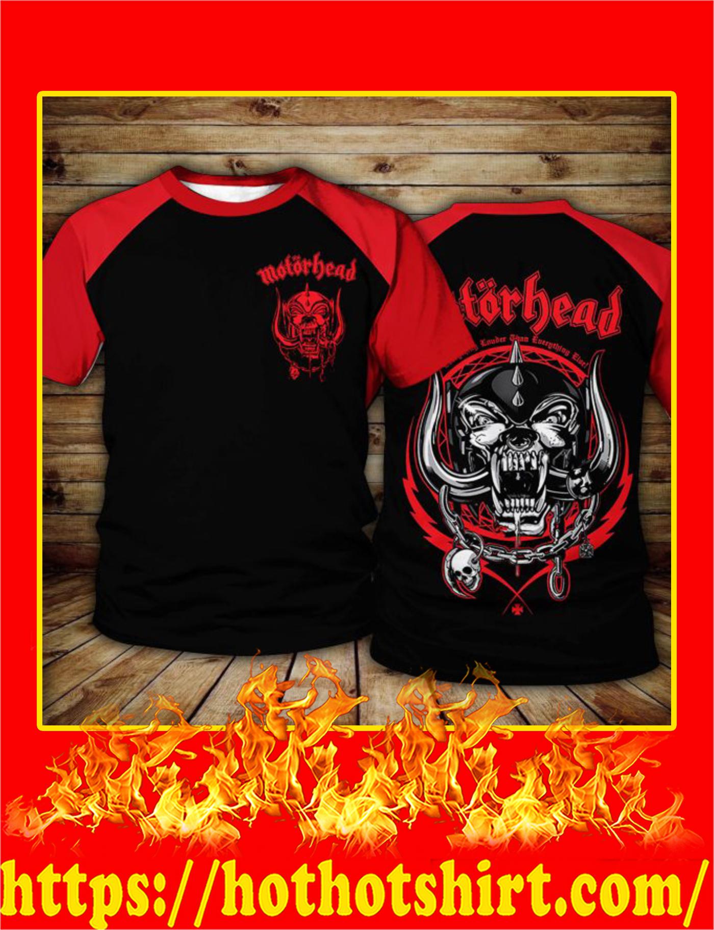 Motorhead Logo 3D T-Shirt