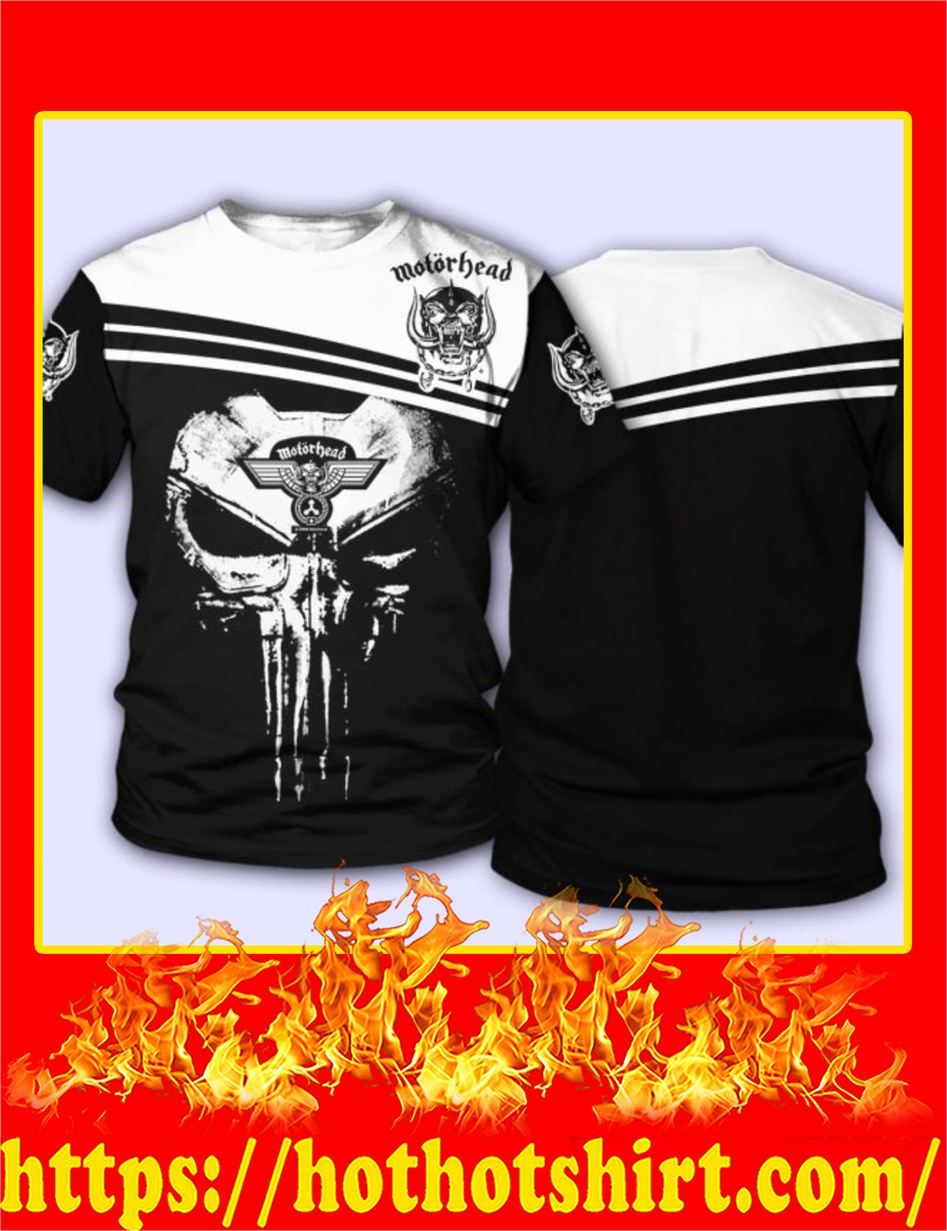 Motorhead Punisher Skull 3D T-Shirt