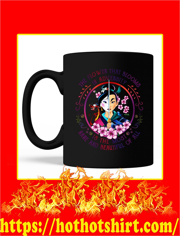 Mulan The Flower That Blooms In Adversity Mug- black