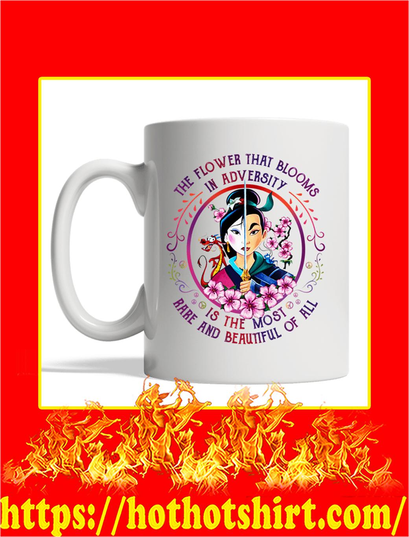 Mulan The Flower That Blooms In Adversity Mug- white